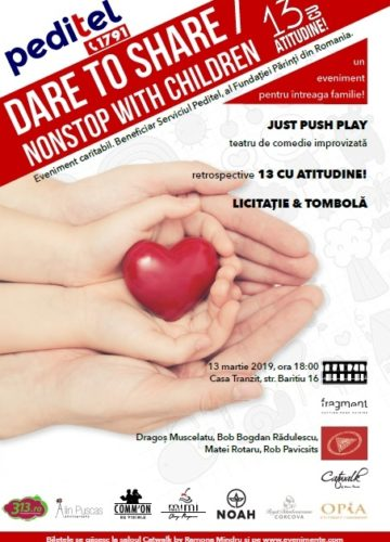 dare to share- non stop with children
